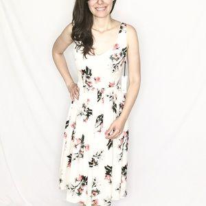 ✨NWT✨BB Dakota | Cream Pink/Blue Floral Dress